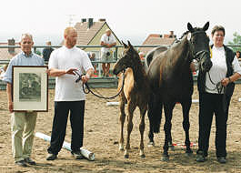 Reservechampion Hörstein 2003 - Harry Potter by Summertime out of Pr.St. Hepburn by Kostolany